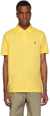 Polo Ralph Lauren Yellow Stretch Mesh Polo