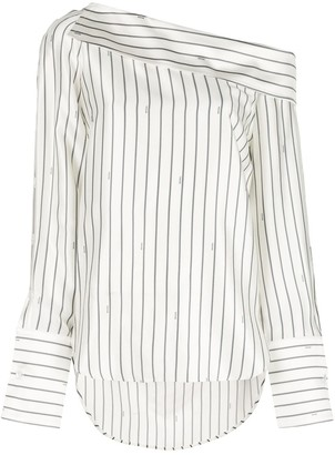 Monse striped longsleeved blouse