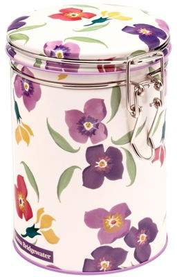 Emma Bridgewater Wallflower Caddy With Clip Lid