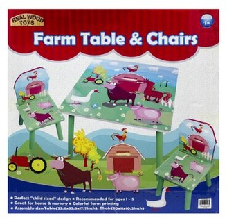 Homeware Kids 3 Piece Writing Table and Chair Set
