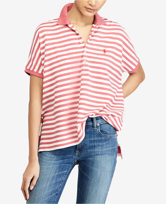 Polo Ralph Lauren Striped Poncho-Polo Shirt