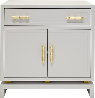 Grey Lacquer Cabinet