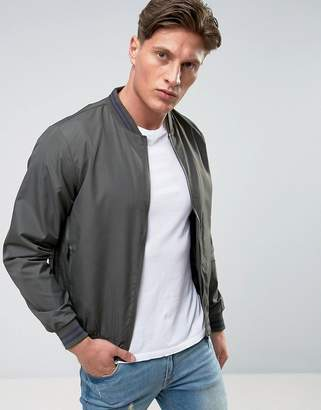 Brave Soul Tipped Cuff Bomber
