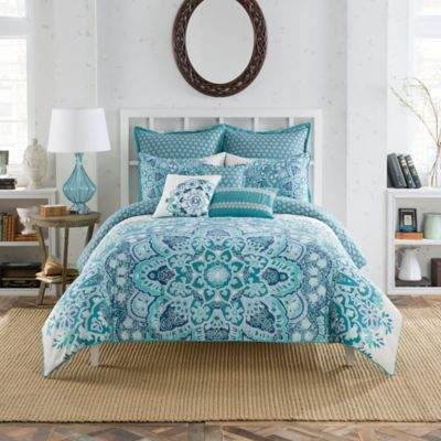 AnthologyTM Kaya European Pillow Sham in Blue