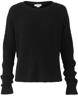 Amanda Wakeley Black Chunky Oversized Knitted Sweater