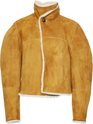 Isabel Marant Acacia Reversible Shearling And Suede Jacket