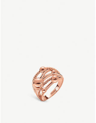 Folli Follie Style Bonding rose gold-plated ring