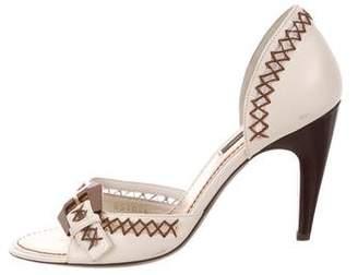 Louis Vuitton Logo d'Orsay Sandals