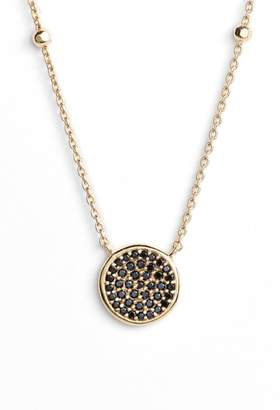 Argentovivo Round Pave Necklace
