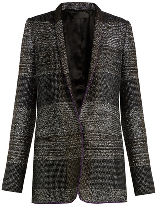 HAIDER ACKERMANN Bussey single-breasted tweed blazer $2,010 thestylecure.com