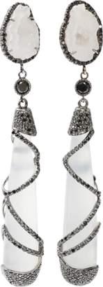 COLETTE JEWELRY White Quartz Drop Earrings