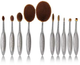 Artis Brush - Elite Smoke 10 Brush Set - Dark gray