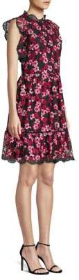 Kate Spade Embroidered Floral Tulle Dress