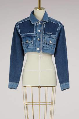 Off-White Off White Denim cropped jacket
