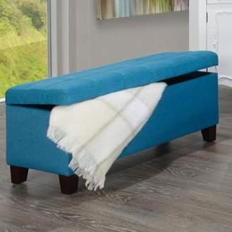 Zipcode Design Reginald Fabric Storage Ottoman