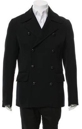 DSQUARED2 Double-Breasted Wool Jacket