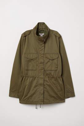 H&M H&M+ Cargo Jacket - Green