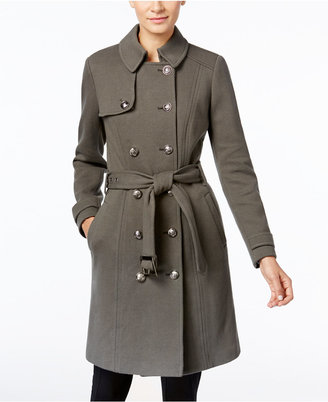 INC International Concepts Military Trench Coat, Only at Macy's $159.50 thestylecure.com