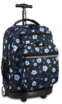 J World JWorld Sundance Laptop Rolling Backpack, Night Bloom