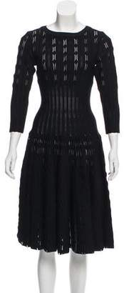 Alaia Fit and Flare Dress w/ Tags
