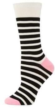 Kate Spade Saturday Striped Socks