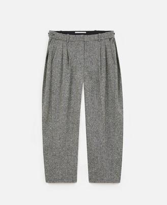 Stella McCartney Wool Flannel Pants, Women's