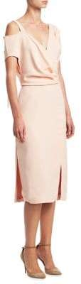 Altuzarra Madon Asymmetrical Sleeve Dress