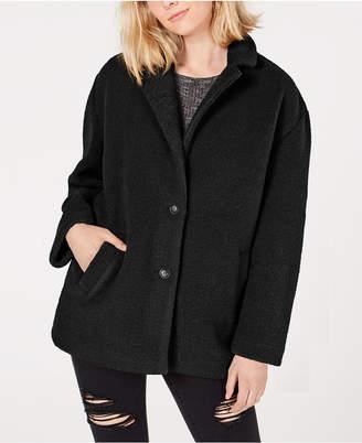Collection B Juniors' Faux-Fur Coat