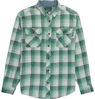 Woolrich Miners Wash Classic Flannel Long-Sleeve Shirt - Men's