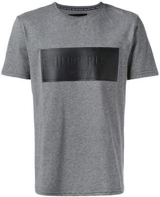 Philipp Plein embossed patch T-shirt