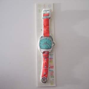 Toy Watch Ah, Quel Plaisir Tic-Tac Red Strap