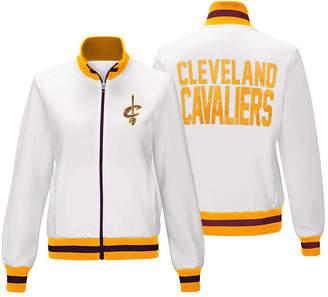 G-iii Sports Women's Cleveland Cavaliers Field Goal Track Jacket