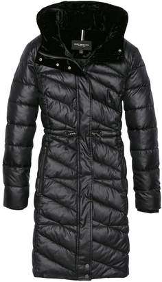 Andrew Marc BROOKDALE LACQUER FAUX DOWN JACKET