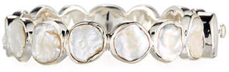 Stephen Dweck Pearly Station Bangle, White