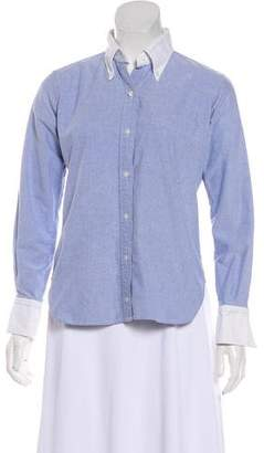 Thom Browne Long Sleeve Button-Up