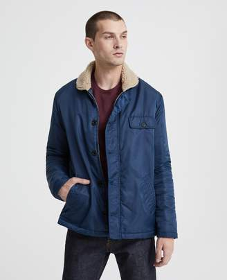 27da40ad596 AG Jeans The Holt Shearling Lined Jacket