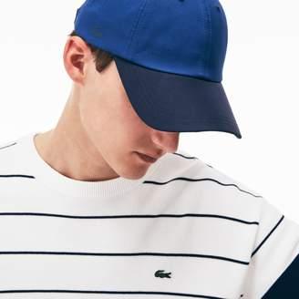Lacoste Men's Contrast Visor Stretch Cap