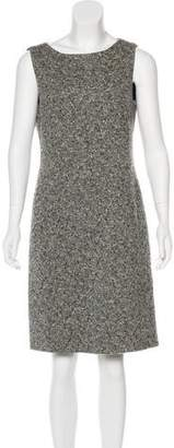 Akris Wool Tweed Dress