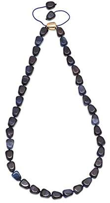 Lola Rose Ann Navy Tigers Eye Necklace of Length 50cm