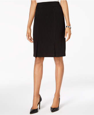 Kasper Pinstriped Pencil Skirt, Regular & Petite Sizes