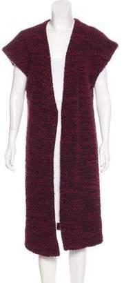Alice + Olivia Sleeveless Wool-Blend Vest