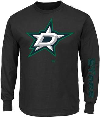 Majestic Big & Tall Dallas Stars Hit Pop Tee