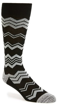 Men's Calibrate Chevron Socks $12.50 thestylecure.com