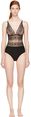 Stella McCartney Black Ophelia Whistling Bodysuit
