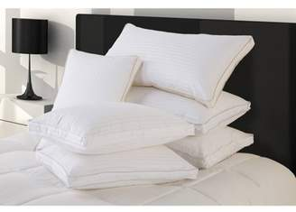 DOWN HOME Ultra Down Down Pillows with Protectors, Set of 2