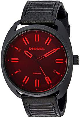 Diesel Men's 'Fastbak' Quartz Stainless Steel and Leather Casual Watch