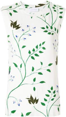Christian Wijnants floral print tank top