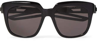 4de1b832ec47 Balenciaga Oversized Square-frame Acetate Sunglasses - Black