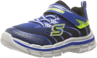 Skechers Boy's Nitrate-Pulsar Sneakers, Royal/Black/Lime