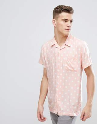 D-Struct Vintage Polka Dot Shirt